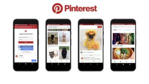 Pinterest PWA